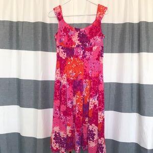 Floral Sleeveless Spring Dress